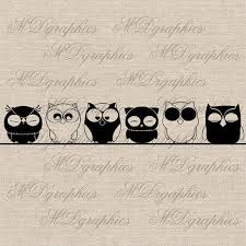my deco owl fabric - Google Search A$3.94 Free shipping Etsy - mdgraphics