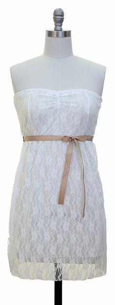 Junior Lace Dress $15
