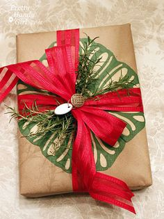 Gorgeous Wrapping with Paper Napkin