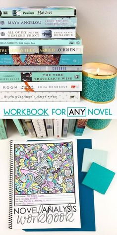 Workbook for ANY novel | Grades 7-12 | Middle and High School | Includes activities, projects, and assessments
