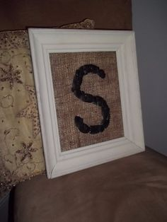 The Letter S ~ Original Beach Art by Amy Lauria
