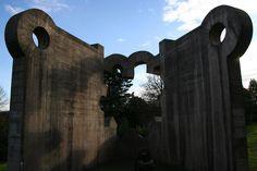 eduardo chillida / escultura, el museo chillida-leku, guipúzcoa