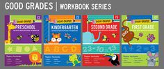 Lauren Gregory  » Aldi Good Grades Workbooks