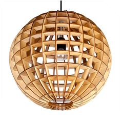 Earth pendant lamp, size: ∅380