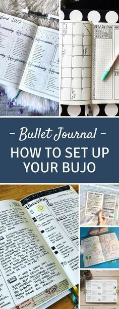 Bullet Journal Set Up - Find out how easy it is to set your Bullet Journal up with everything you need from monthly and daily spreads to collection. With pictures for inspiration! #bulletjournal #bujo #bulletjournaling