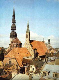 Riga (Latvia) old times,same beauty