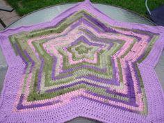 crochet flower baby blanket | Etsy Crochet Star Blanket — Crochet Concupiscence