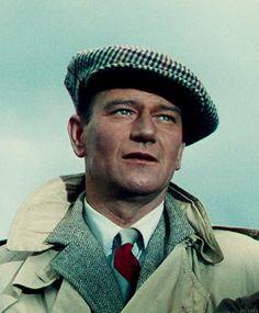 """John Wayne en """"El Hombre Tranquilo"""", 1952"""