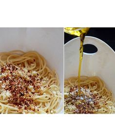 Spaghetti with Olive Oil, Garlic and Red Chili Flakes: 10 Easy Romantic Dinners - mom.me
