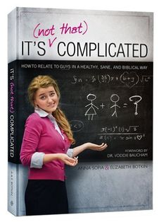 It's (Not That) Complicated: How to Relate to Guys in a Healthy, Sane, and Biblical Way by Anna Sofia Botkin et al., http://www.amazon.com/dp/1935877127/ref=cm_sw_r_pi_dp_i7EWtb0PNC8X3