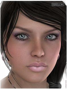 VH_Bernadette for Genesis & Victoria 4.2 3D Figure Essentials Godin