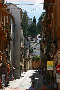 "fotofreddy: ""Andalusia, Little street in Granada """