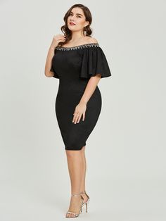 Cocktail Dress Cheap Cocktail Dresses, Cocktail Dresses Online, Short Cocktail Dress, Elegant Dresses, Nice Dresses, Special Occasion Outfits, Occasion Wear, Black Midi Dress, Quinceanera Dresses