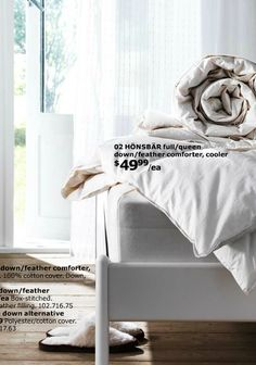 Linen Bedding, Duvet, Utility Bed, Bedding Basics, Down Feather, Comforters, Textiles, Inspiration, Home
