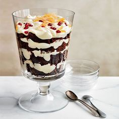 This trifle is three desserts in one: mousse, gingerbread, and caramel. Each part is delicious on its own, too. Get the recipe from Delish.   - Delish.com