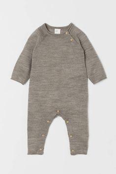 H&M Merino Wool Overall - Brown