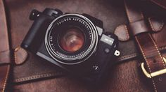 Fujifilm X-T1. I'm a little obsessive about Fujifilm cameras recently. Love the company and their classic look on their products.