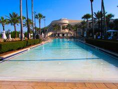 Massive zero-entry pool area for little swimmers at the Waldorf Astoria Orlando