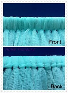 """DIY Tutu Skirt Tutorial. {"""" I buy my tulle at Hobby Lobby on the 6″ rolls because they have a variety of colors to chose from and they often have 40% off coupons available. You could also buy it on the bolt but the rolls are much easier to work with.""""}"""