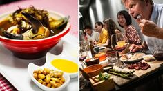 """Peruanen Aji y Ajo fick beröm för sin utsökta kryddningskonst. Shibumis mat kallades """"utomjordiskt god""""."""