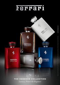 Ferrari Amber Essence ~ New Fragrances