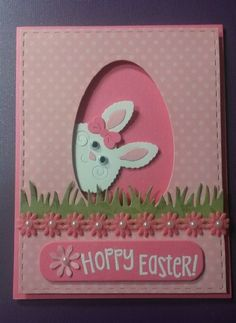 Easter Card Images Luxury Created by Cindy Lou Gothard for Easter Cards Easter Diy Easter Cards, Easter Greeting Cards, Handmade Easter Cards, Happy Easter Cards, Easter Projects, Easter Crafts, Easter Ideas, Holiday Cards, Christmas Cards