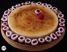 C'est ma fournée !: La tarte aux framboises et à la crème brûlée vanille