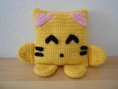 crochet tiger front by nigramors.deviantart.com