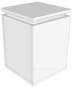 storage bench plans and tutorial
