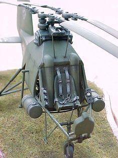 "1/48 Huma Flettner FL-282 ""Kolibri"" by Francisco Santos"