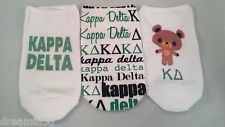 Kappa Delta 3 Pairs of No Show Socks (Different Designs)