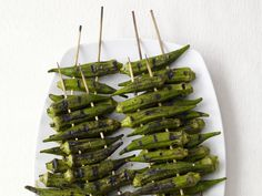 Smoky Okra #recipe from #FNMag