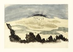 Charles Burchfield (American, 1893-1967) Untitled Moonscape