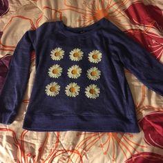 Flower sweater Warm winter/fall sweater Rue 21 Sweaters