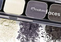 Kit de Sombras Faces #natura #maquiagem #make #dicas #olhos