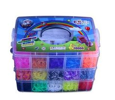 nice The Best Shopping Mall supply Rainbow loom kit,creative girl preparing Toys