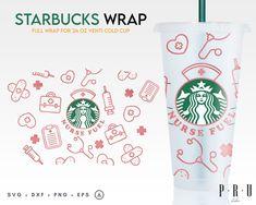 Disney Starbucks, Starbucks Venti, Starbucks Logo, Cricut Tutorials, Cricut Ideas, Starbucks Cup Design, Coffee Logo, Flower Svg, Keychains