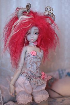clouetvis: Noble Dolls Raspberry by caracal0407 on Flickr. - Dying for a Noble Dolls Raspberry or maybe even a Rhubard! They are gorgeous!