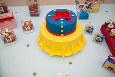 O Chá da Branca de Neve para os 2 aninhos da Isabela - a festa pronta