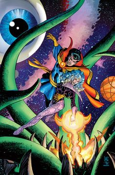 Dr Strange and Clea by Paul Smith