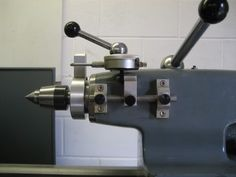 """Tailstock depth system using a 1"""" travel dial indicator but could be modified for a 2"""" version"""