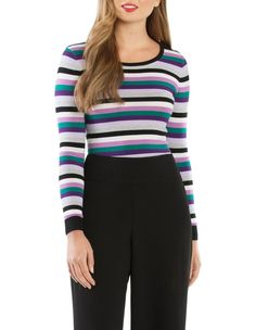 Review   Alexis Jumper   MYER Easy Wear, Stretchy Material, Hemline, Knitwear, Jumper, Girl Fashion, Stripes, Girls, Sweaters