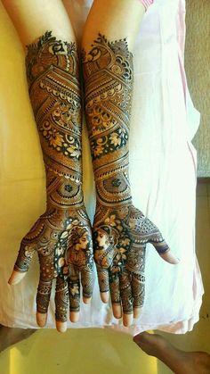 """Photo from album """"Latest bridal & stylish mehandi"""" posted by mehendi Amit Nayak Latest Bridal Mehndi Designs, Full Hand Mehndi Designs, Indian Mehndi Designs, Mehndi Designs For Girls, Modern Mehndi Designs, Wedding Mehndi Designs, Mehndi Design Pictures, Mehndi Images, Latest Mehndi"""