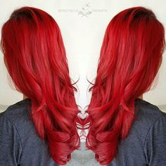 Fire red on @briannna_e  #btconeshot_rainbow16 #michellezapanta #salon25 #modernsalon #behindthechair #pulpriothair #hotonbeauty #picoftheday #inspirehairstyles #licensedtocreate #xostylistxo #cosmoprofbeauty #fiidnt #hair #hairstylist #redhair #embeemeche #hairdye #dyeddollies #authentichairarmy #nofilter #thebalaycollage #myscconnection #hairoftheday #instalike #love #embeemecheauthentic #mermaidian #wavyhair