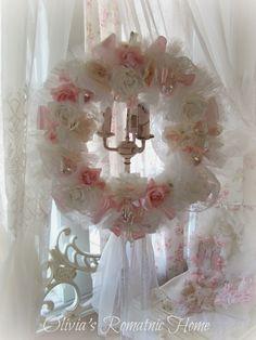 Olivia's Romantic Home: Pink Romantic Christmas Creations