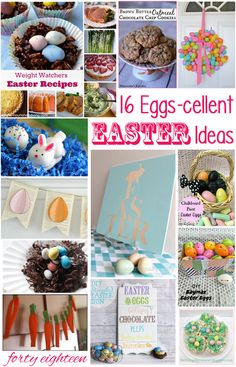 These 16 fabulous Easter recipes, crafts, decorations, and ideas will help you plan an awesome Easter celebration. Check it out now!