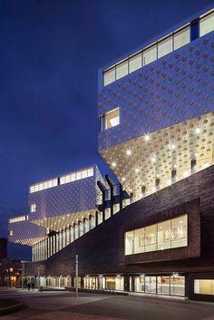 Design Hub - блог о дизайне интерьера и архитектуре: Культурный центр в Амерсфорт, Нидерланды