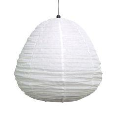 Italian Linen Pendant Light | Large | Assorted Colours