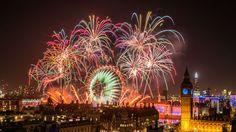 London New Year's Eve Fireworks 2015. visitlondon.com/Stewart Marsden