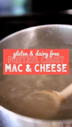 Just like you remember as a kid, homemade mac & cheese with a crunchy topping. Only this time, it's gluten & dairy free. Oh, and made with real, clean ingredients. Save this for your next dinner party! Gluten Free Recipes, Low Carb Recipes, Vegan Recipes, Gluten Free Pretzels, Pretzel Crust, Mac And Cheese Homemade, Gluten Intolerance, Plant Based Recipes, Cooking Tips